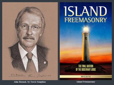John Bizzack. Past Master. Lexington Lodge No. 1. Island Freemasonry. by Travis Simpkins