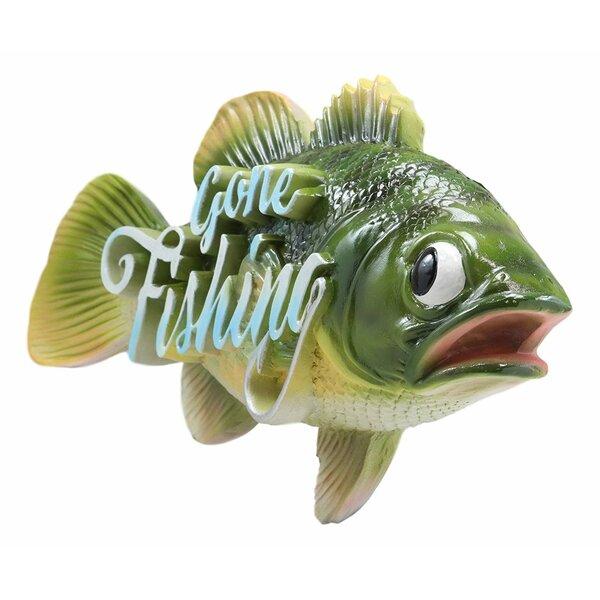 Nautical Sea Bass Fish Wall Decor