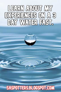 Learn about my experiences on 3 day water fast.