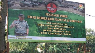 Hijaukan Tangerang, Kodim 0506/Tgr Taman 1.000 Pohon