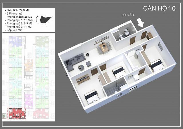 Mở bán dự án IEC Tứ Hiệp Thanh Trì chung cư nhà ở xã hội tốt nhất