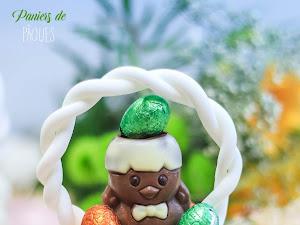 Cupcakes paniers de Pâques