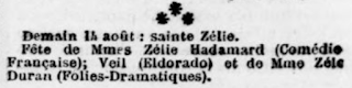 Sainte Zélie