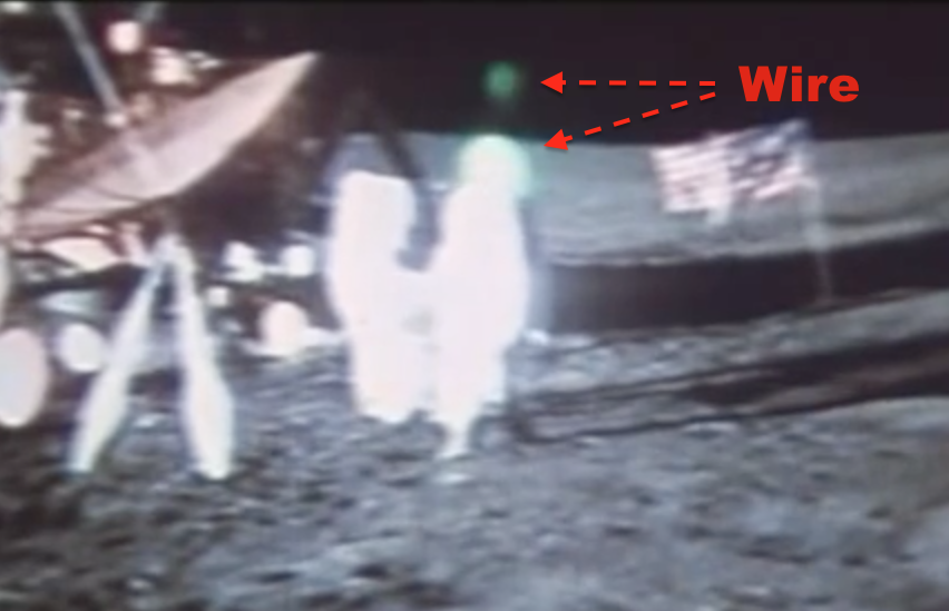 UFO SIGHTINGS DAILY: Moon Landing Hoax - Wires Footage ...