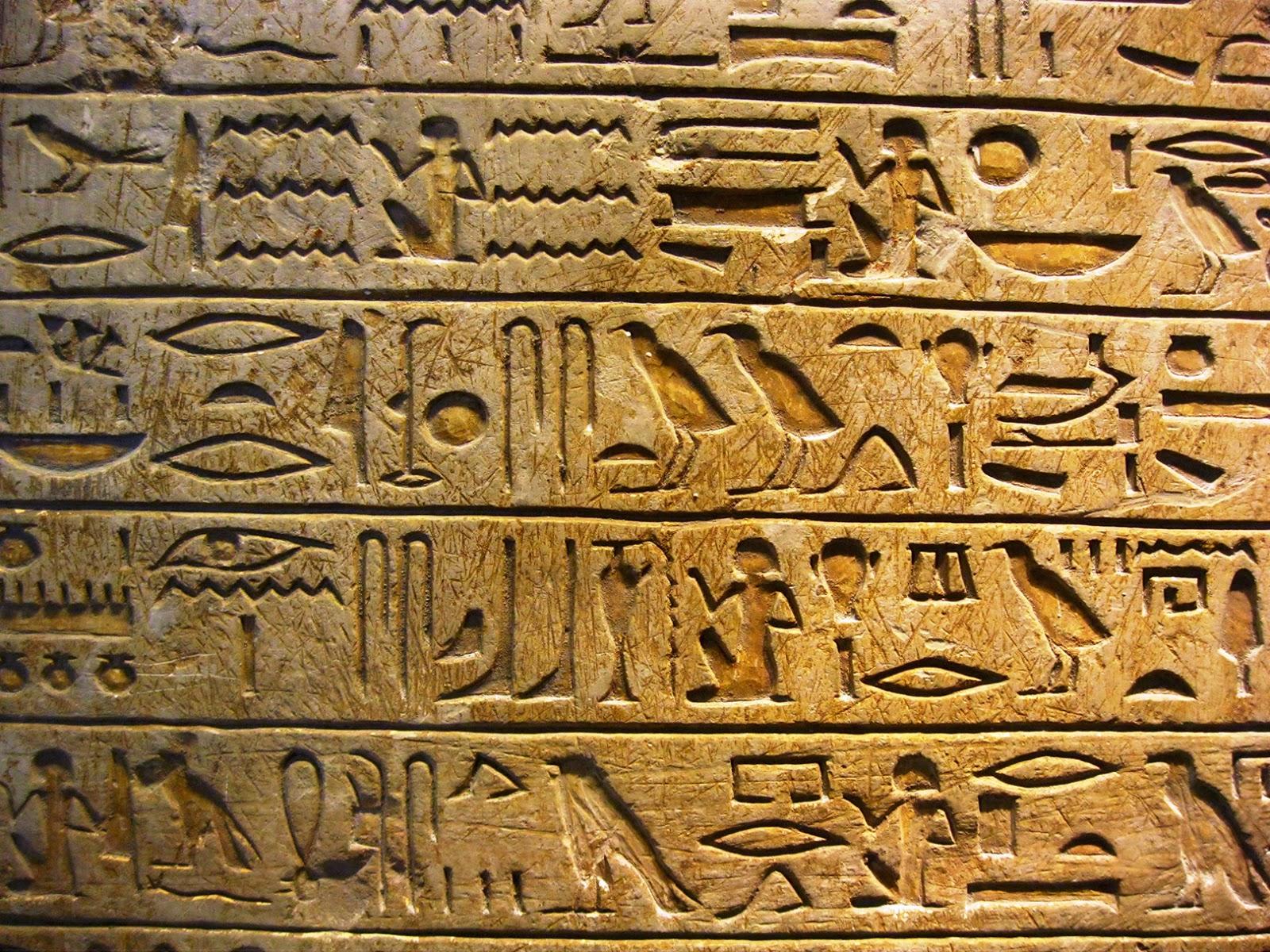 Indian Ocean Polish Egyptian Hieroglyphics
