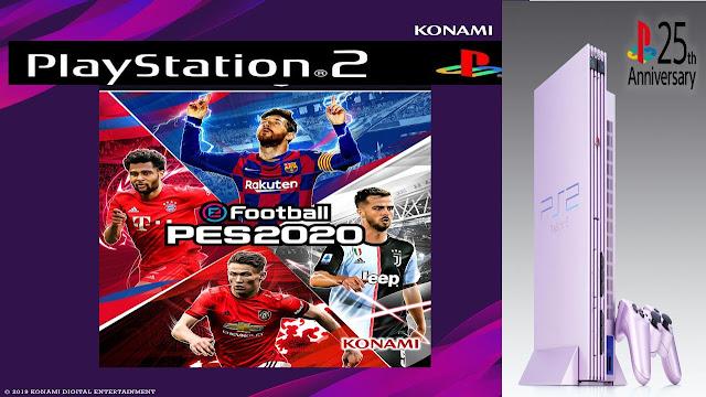 تحميل لعبة PES 2020 PS2 اخر تحديث 😱😍🔥
