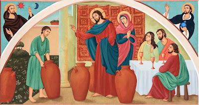 Imagens do casamento em Caná da Galileia, pintura, #2