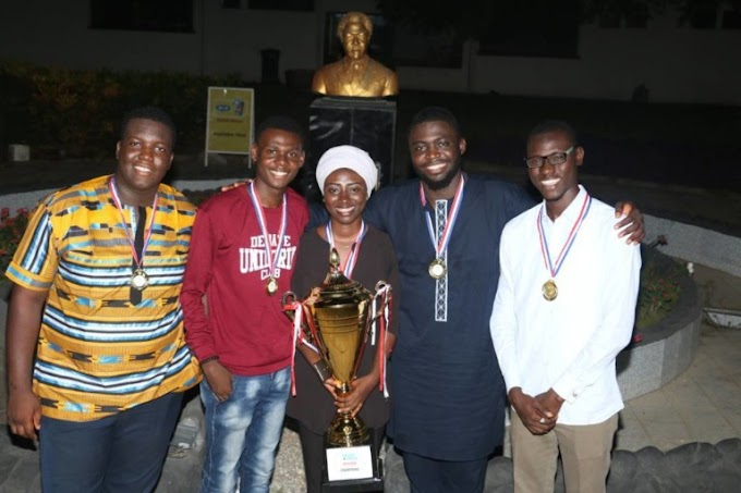 UNILORIN Wins the First West African Debate Championship in 2018 at Ghana