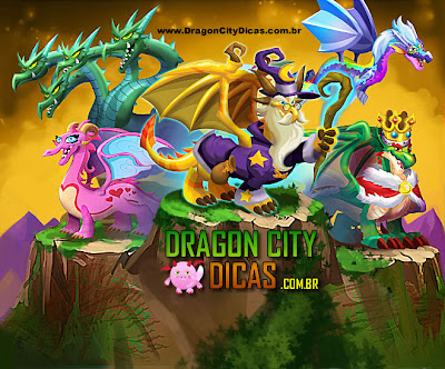 Dragões Especiais - Dragon City