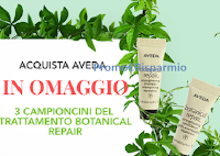 Omaggi Aveda : 3 campioncini Trattamento Botanical Repair! Come riceverli