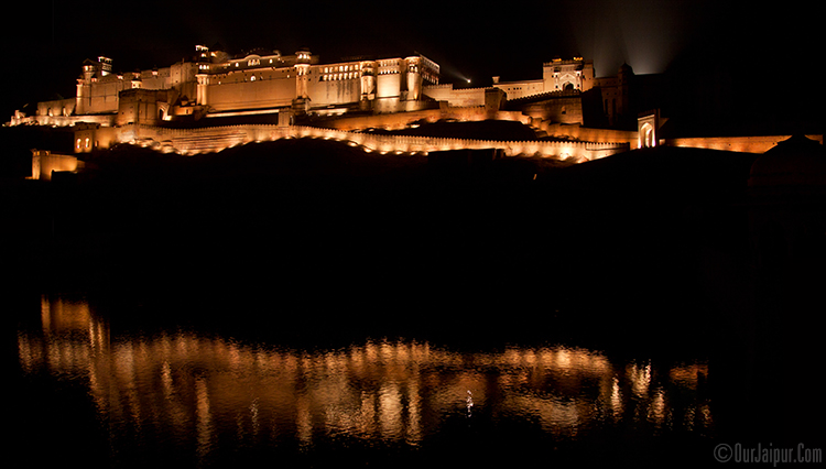 Amber Fort by Night, Jaipur.