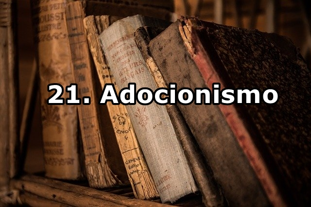 21. Adocionismo