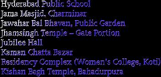 Heritage Buildings in Hyderabad