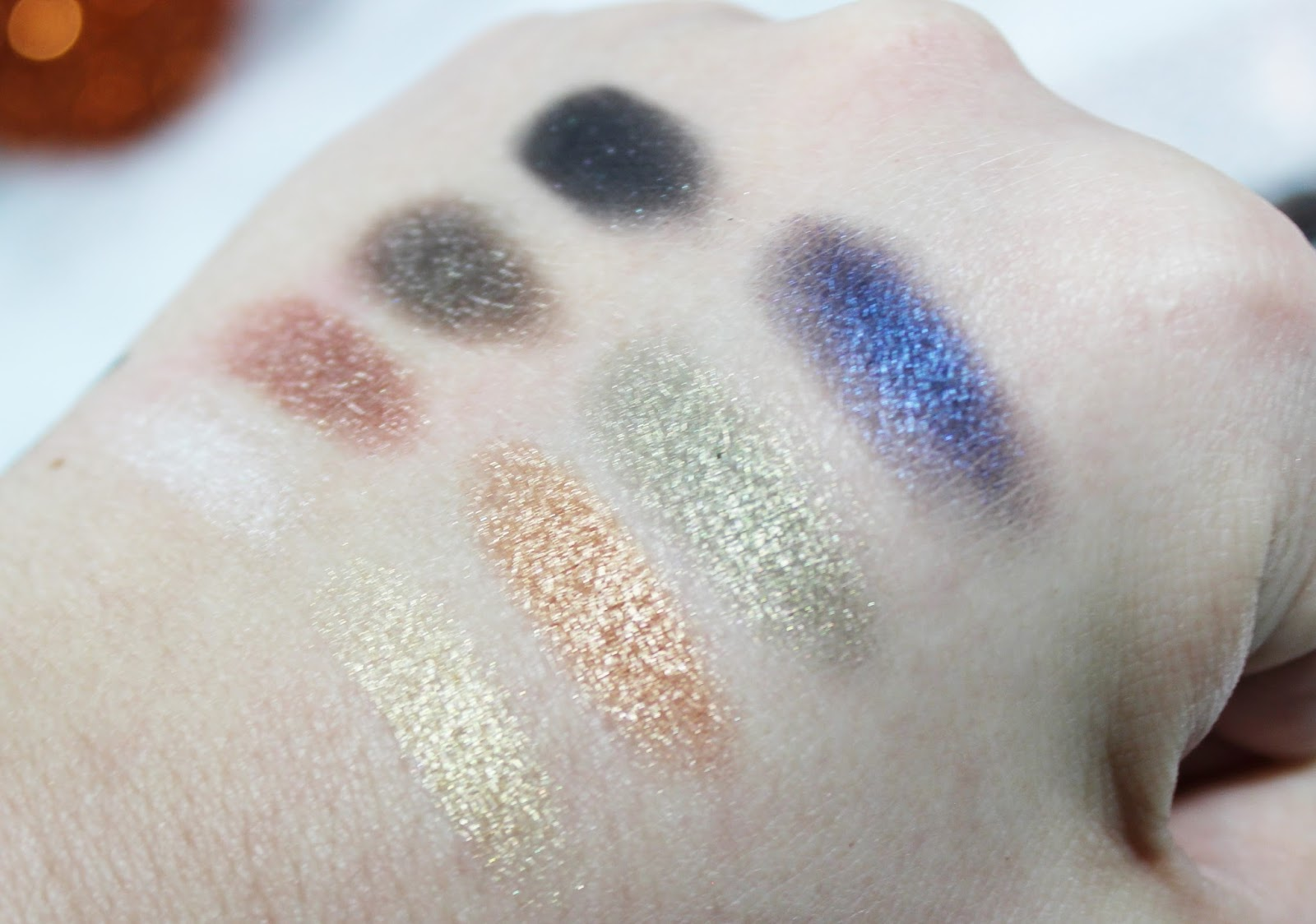 Lorac Holiday Swatches