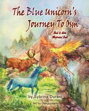 Read and Color Blue Unicorn's Journey To Osm