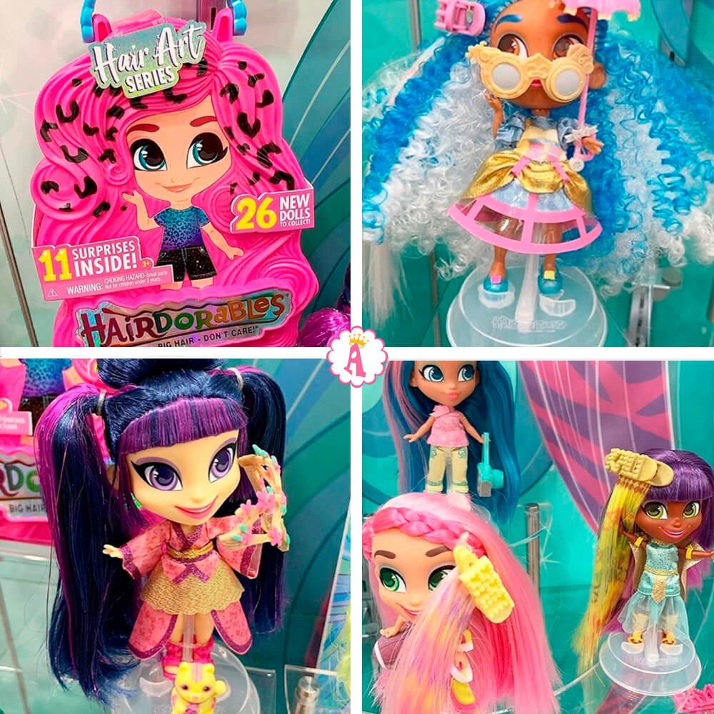 Новые игрушки 2020 для девочек Hairdorables Hair Art series