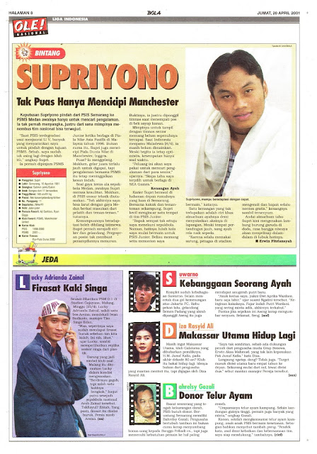 LIGA INDONESIA: BINTANG SUPRIYONO