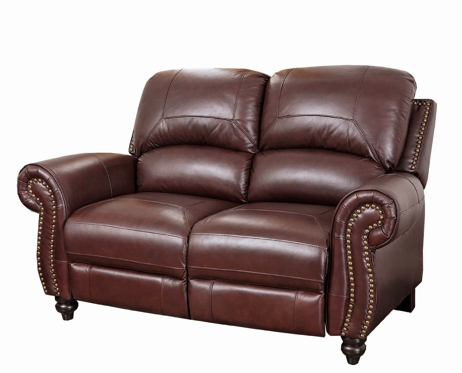 Abbyson Living Durham Vivaldi 2 Seater Reclining Leather Sofa