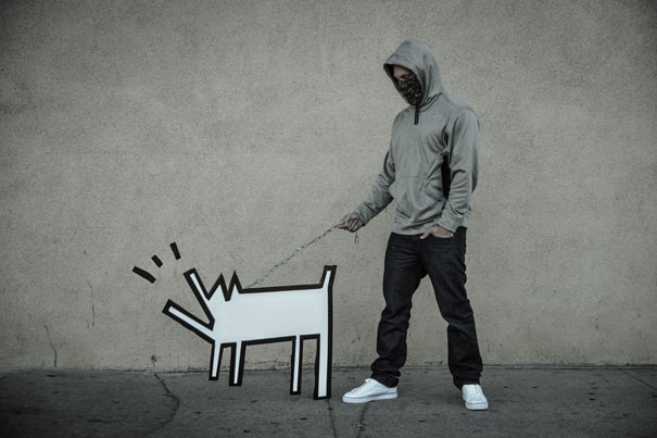 Banksy Artwork Recreated in Real Life-12
