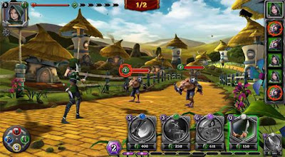 Oz: Broken Kingdoms RPG v 1.7 Mod Apk (No Skill Cooldown & More)