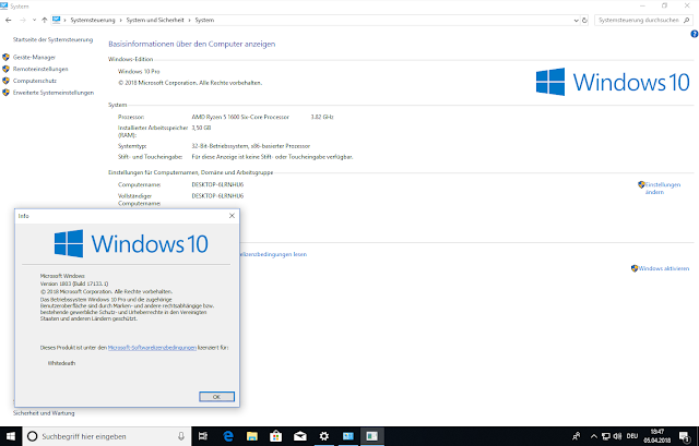 تحميل ويندوز 10 الاصدار الجديد | Windows 10 Rs4 Rtm Spring Creators AIO 12in2