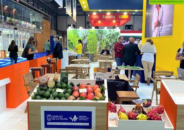 El Cabildo de La Palma cuenta por primera vez con un estand en la Feria Fruit Attraction