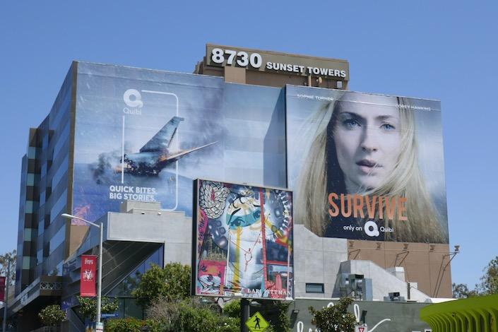 Giant Survive series premiere billboard