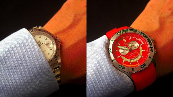 スーツ用の腕時計のサイズ