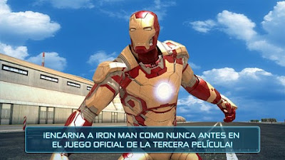 تحميل لعبة 3 Iron Man مهكرة للاندرويد من ميديا فاير