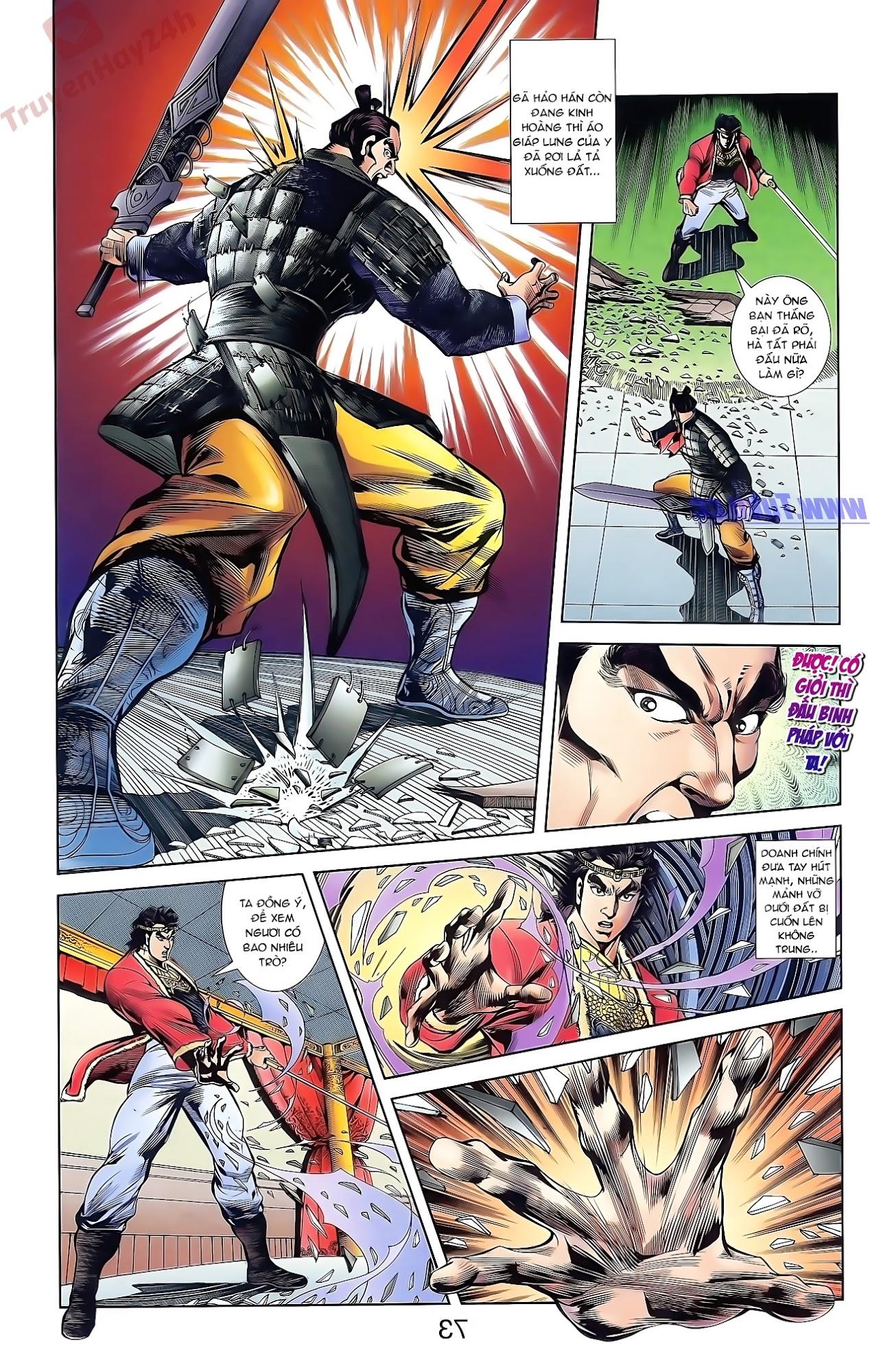 Tần Vương Doanh Chính chapter 42 trang 7