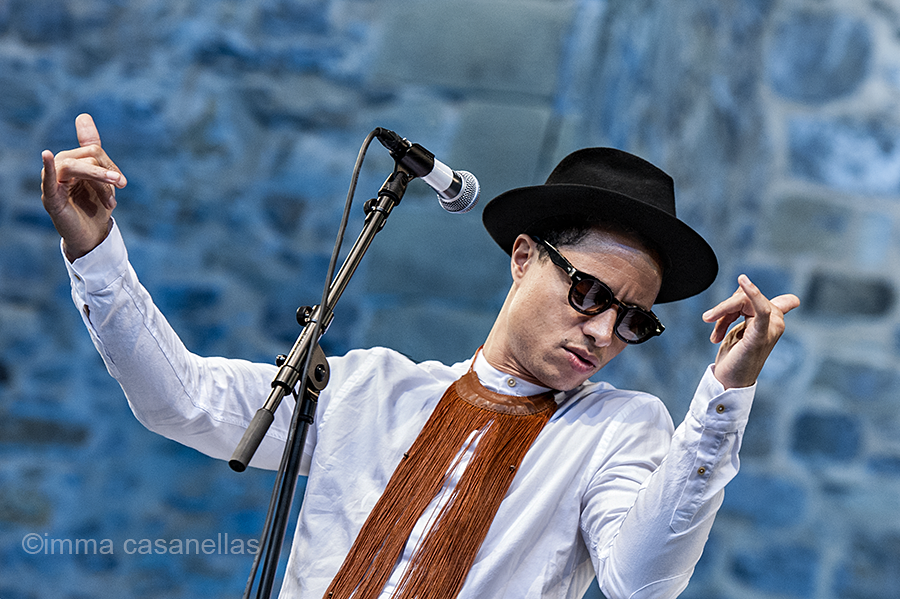 José James, Plaza de la Trinidad, Donostia, 24-jul-2016