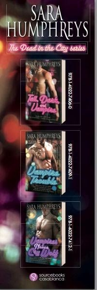 Feature: Vampire Trouble by Sara Humphreys Pre-Order Gift