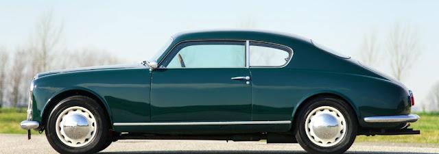 Lancia Aurelia B20 1950s Italian classic sports car