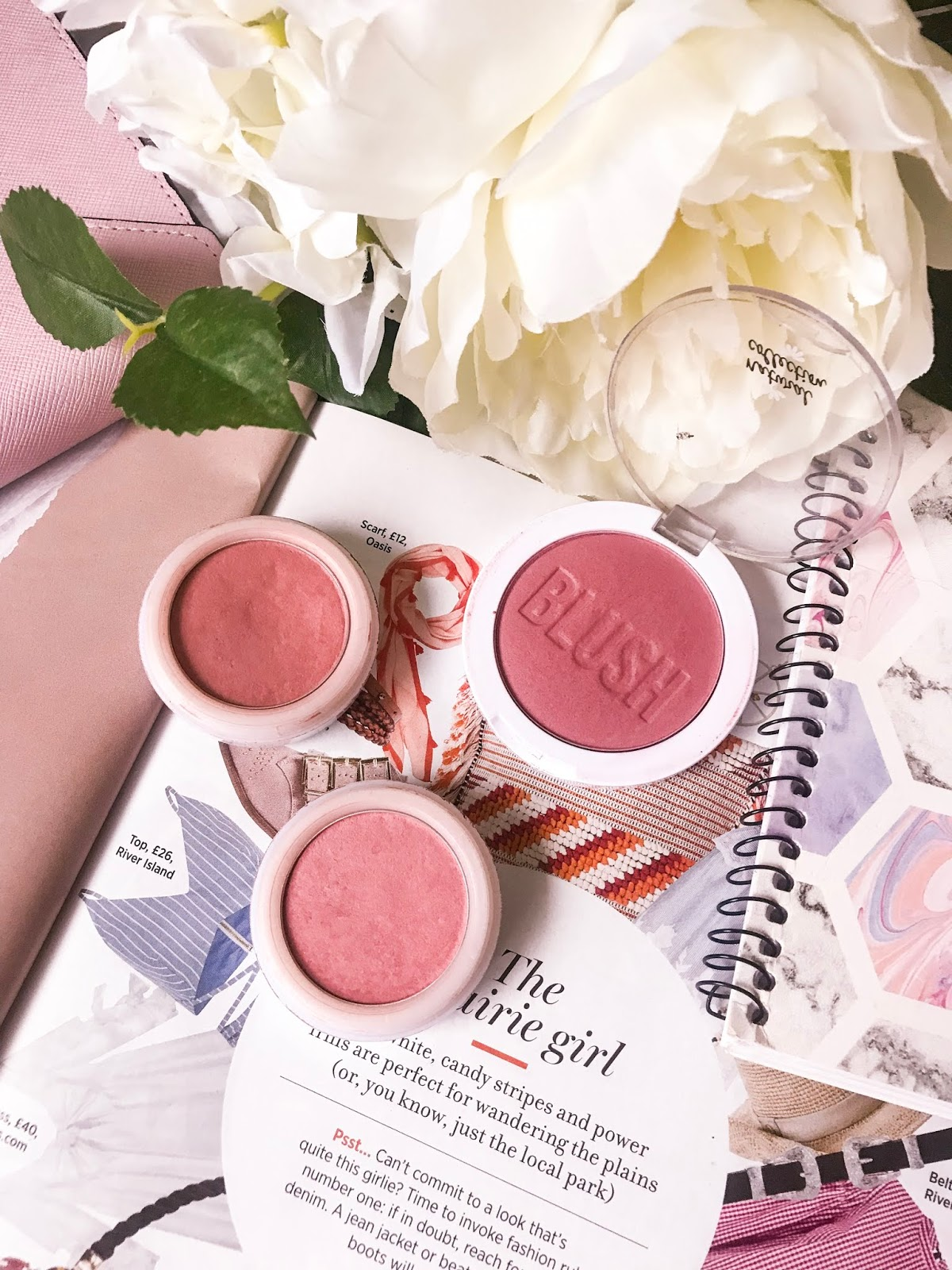 natural collection blushes