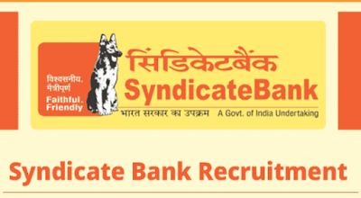 Syndicate Bank Recruitment 2018 for Probationary Officer 500 Posts @syndicatebank.in
