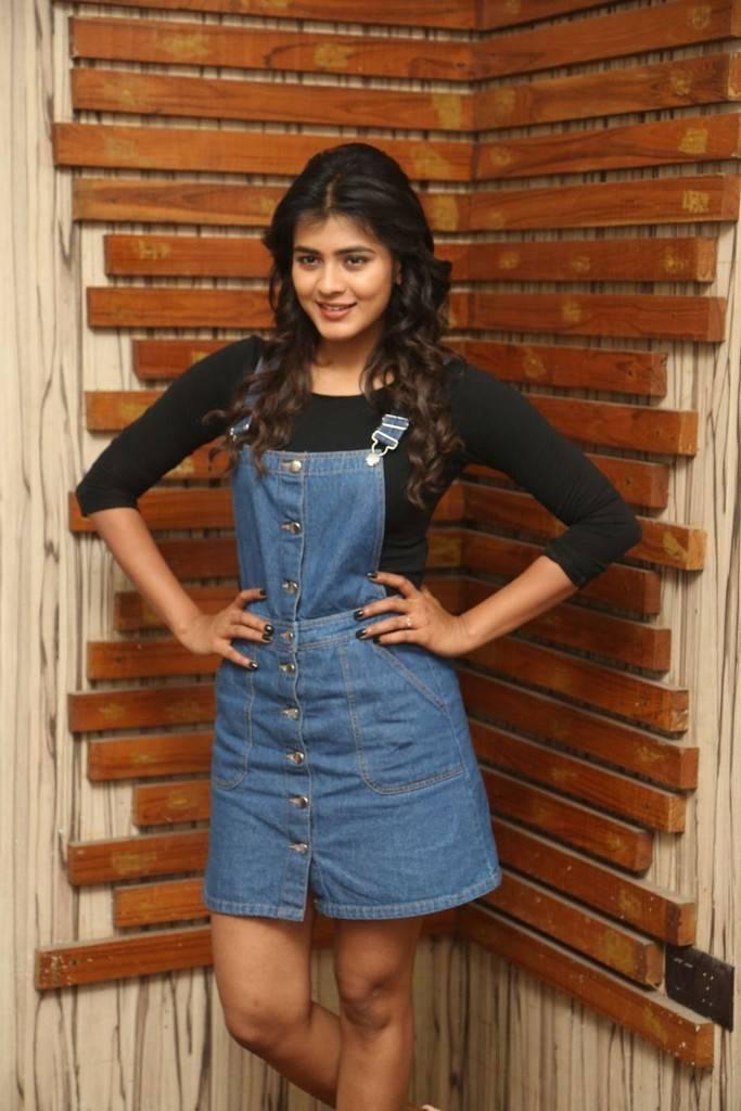 Hebah Patel in Short Jeans