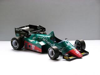 Alfa Romeo 184T - Riccardo Patrese and Eddie Cheever USA-East GP 1984 (GP Team)