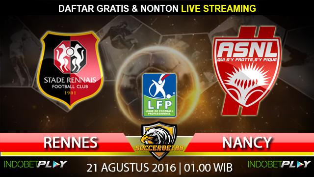 Prediksi Rennes vs Nancy 21 Agustus 2016 (Liga Prancis)