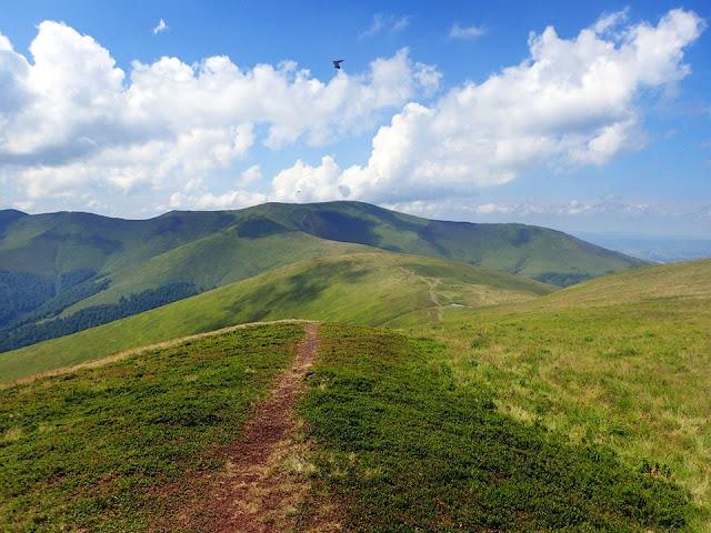 Górsko-borżawsko. Ze szczytu Gimby (1491)