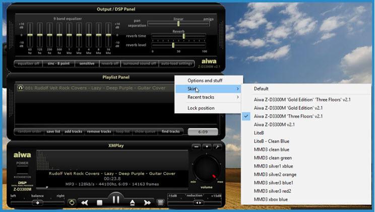 XMPlay :  Ο εναλλακτικός Player, για να ακούσετε την αγαπημένη σας μουσική