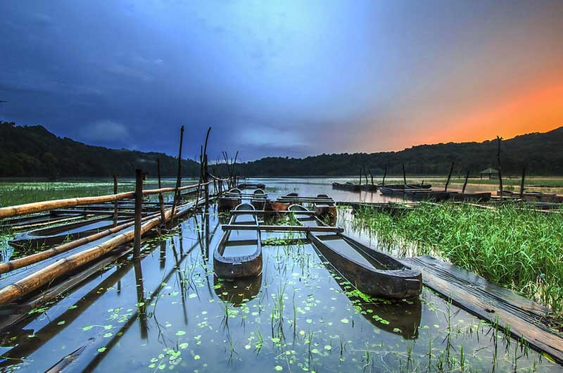 Camping di Danau Tamblingan Bali