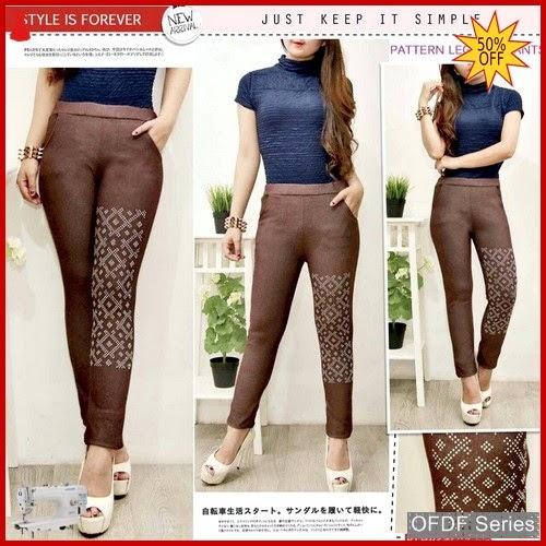 OFDF329 Celana Leggings Premium Pattern Pants Modis BMGShop