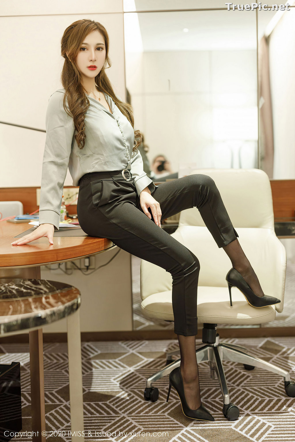 Image IMISS Vol.492 - Chinese Model - Lavinia肉肉 - Long Legs Office Girl - TruePic.net - Picture-8