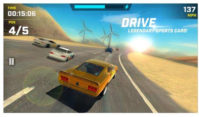 Race Max v1.9 Apk + Datos SD Mod [Dinero]