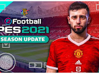 PES 2021 PPSSPP Special Manchester United Edition KITS 2022 Best Realistic Graphics & New Full Transfer