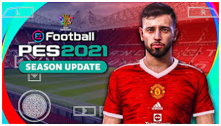 Download PES 2021 PPSSPP Special Manchester United Edition KITS 2022 Best Realistic Graphics & New Full Transfer