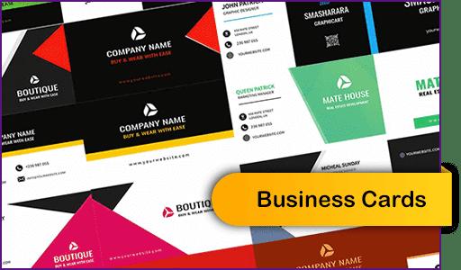 Business Cards Aucune compétence technique