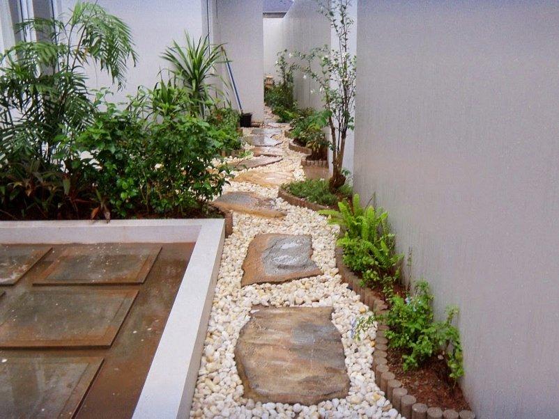 taman minimalis belakang rumah yang inspiratif