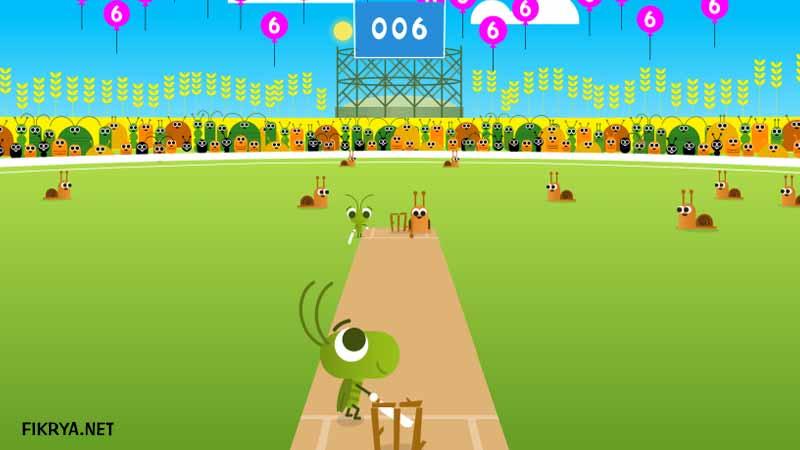 game google doodle cricket