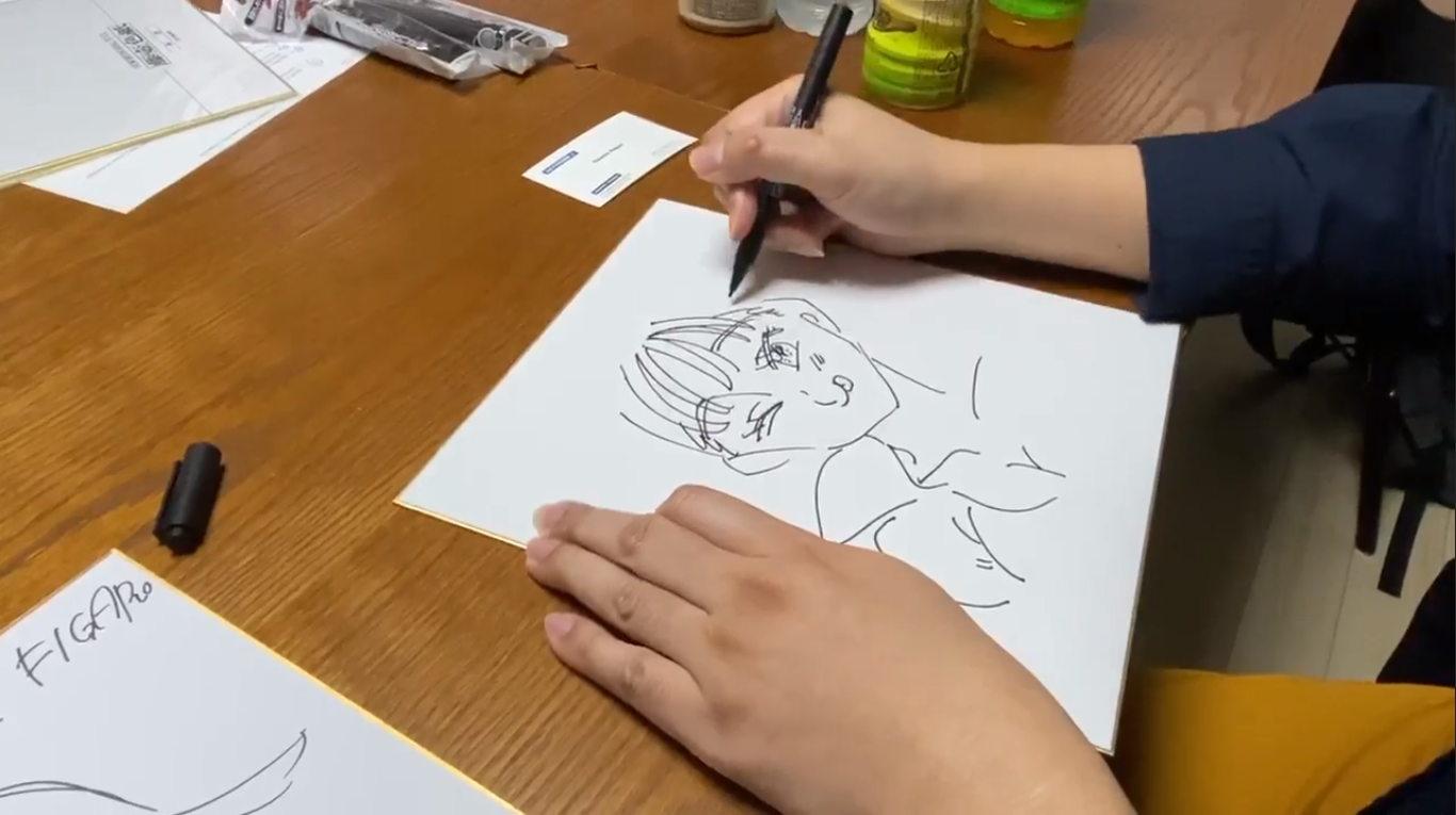 Inilah Video Ketika Nakaba Suzuki Menggambar Diane Nanatsu No Taizai